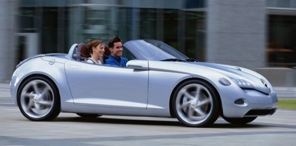mercedes vision sla lead 597x294 SLA Roadster Breaks New Ground For Mercedes
