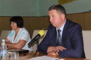 Голова Бердичівської райради Максим Самчик привітав новопризначеного головного лікаря районної лікарні