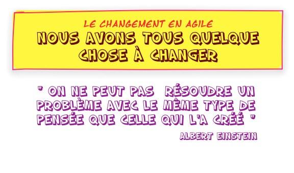 BD Changement en Agile  - 1.Sommaire