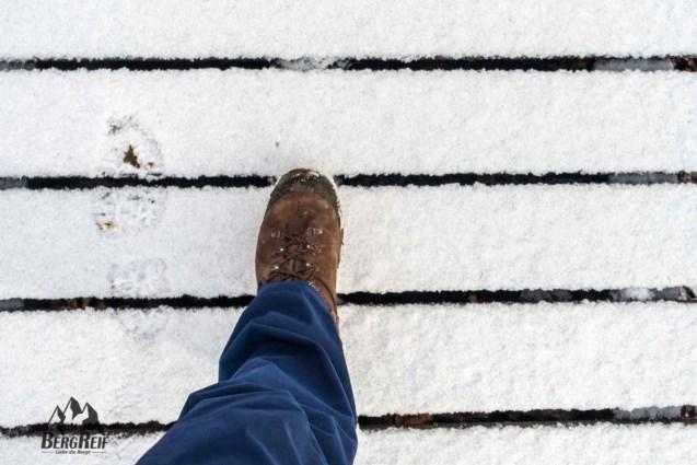 Wandern im Winter und Winterwandern im Siebengebirge