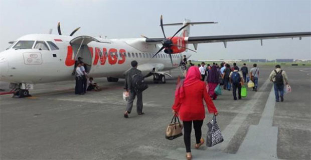 Wings Air Mendarat Darurat di Kupang