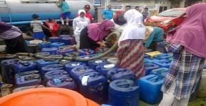 Krisis Air Bersih, 55 Desa Sukabumi Semuanya Menderita