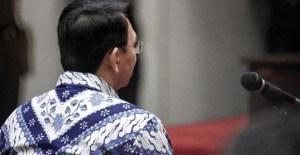 Ahok Memastikan Tidak Akan Bersaksi di Persidangan Buni Yani
