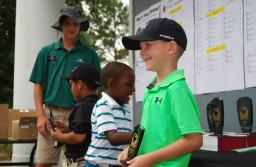 The U.S. Kids Golf tournament attracted participants from across the nation.