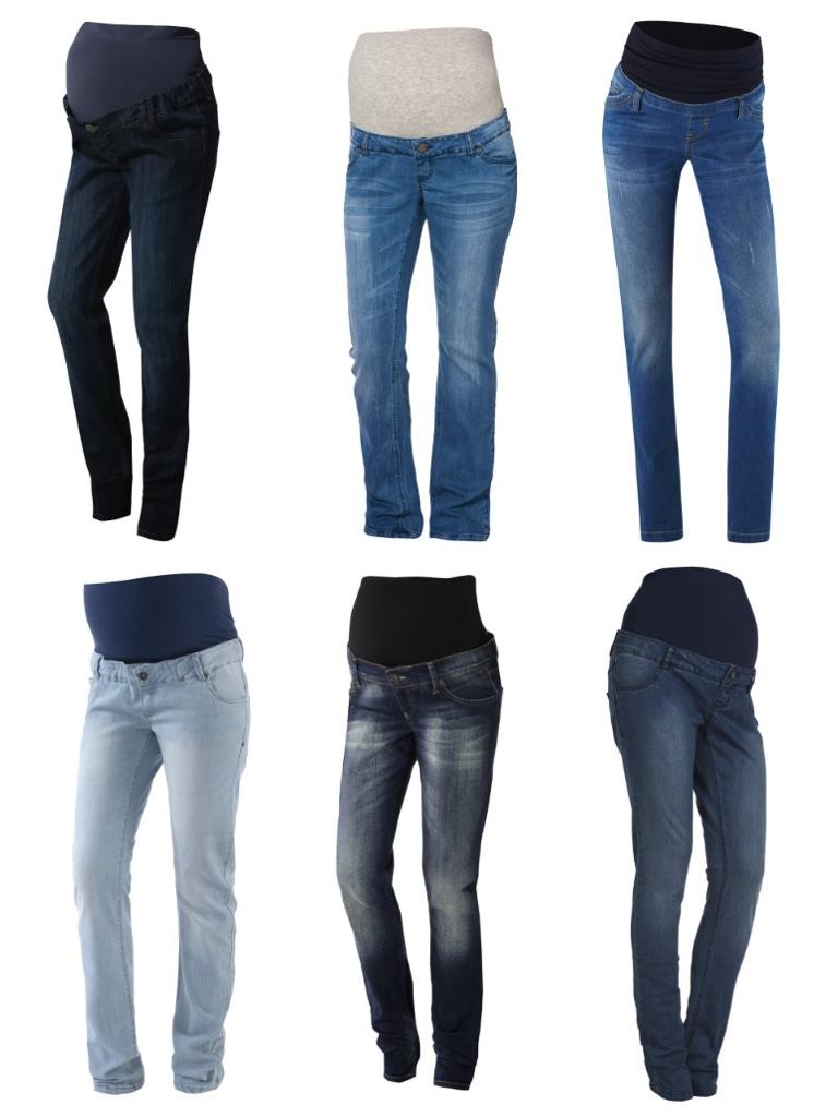 Wieviel Umstandsmode braucht man wirklich? Jeans sind ein Must-Have!