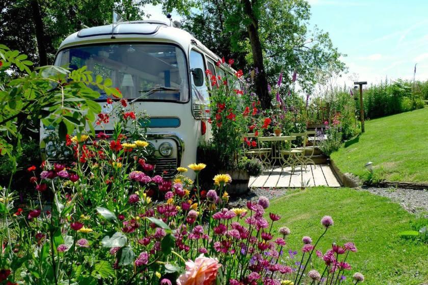 Ein Bus zum Wohnen in Großbritannien