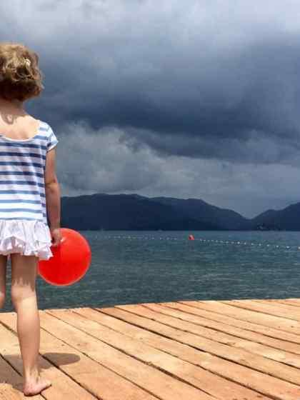 Beim Reisen mit Kindern geht es nicht ums schnelle Ankommen. Es geht um das Staunen mit Kinderaugen.