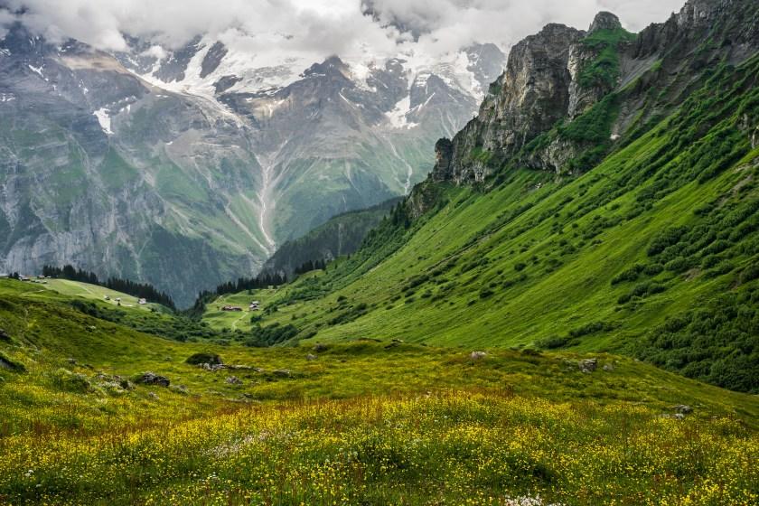 Schweiz: Eiger, Mönch und Jungfrau (Foto: Ricola)