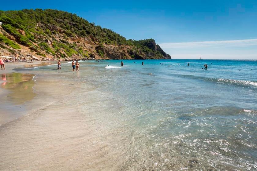 Ibiza: Die Cala Boix (Region Santa Eulalia)