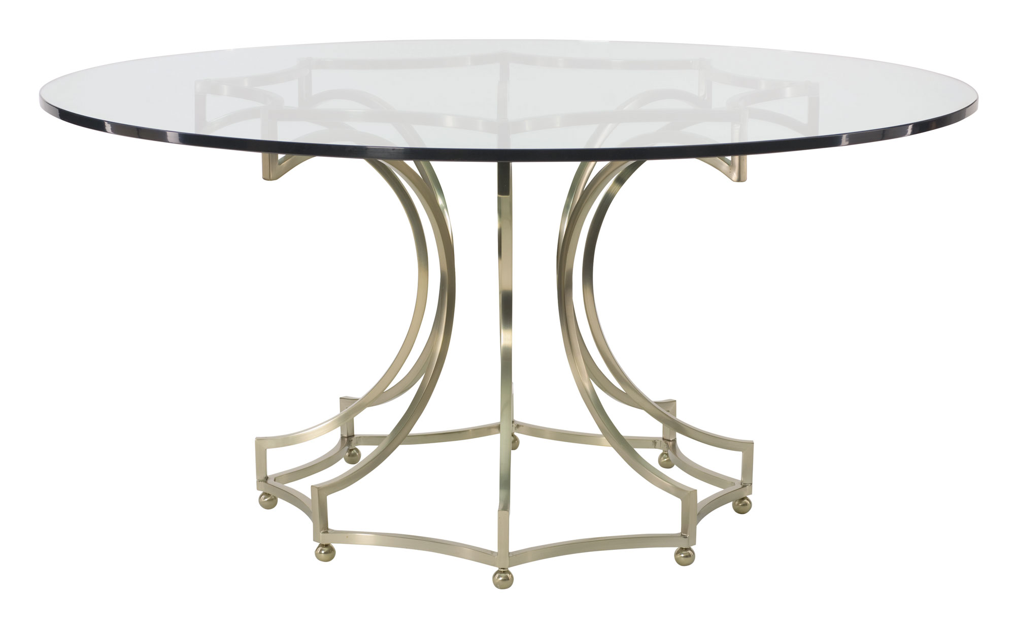 round dining table glass top with metal base glass round kitchen table Miramont Round Dining Table Glass Top with Metal Base
