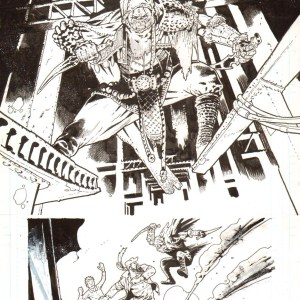 Andrei Bressan � Birthright 12p18 Comic Art
