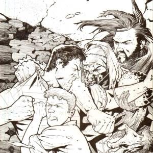 Andrei Bressan � Birthright 16 Cover art Comic Art