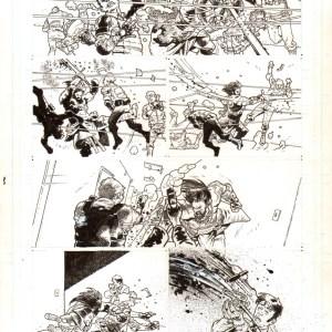 Andrei Bressan � Birthright 3p3 Comic Art