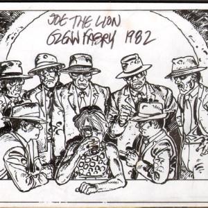 Glenn Fabry � David Bowie, Joe the lion Illustration � 1982 � fabry earliest existing illustration Comic Art