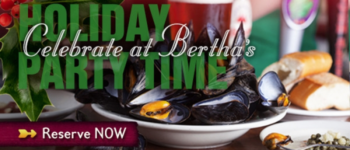 Celebrate Your Holiday With Bertha's