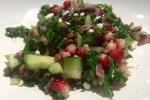 lentil and pomegranate salad 3
