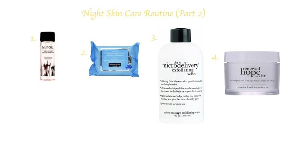 pM Skin Care Routine 2