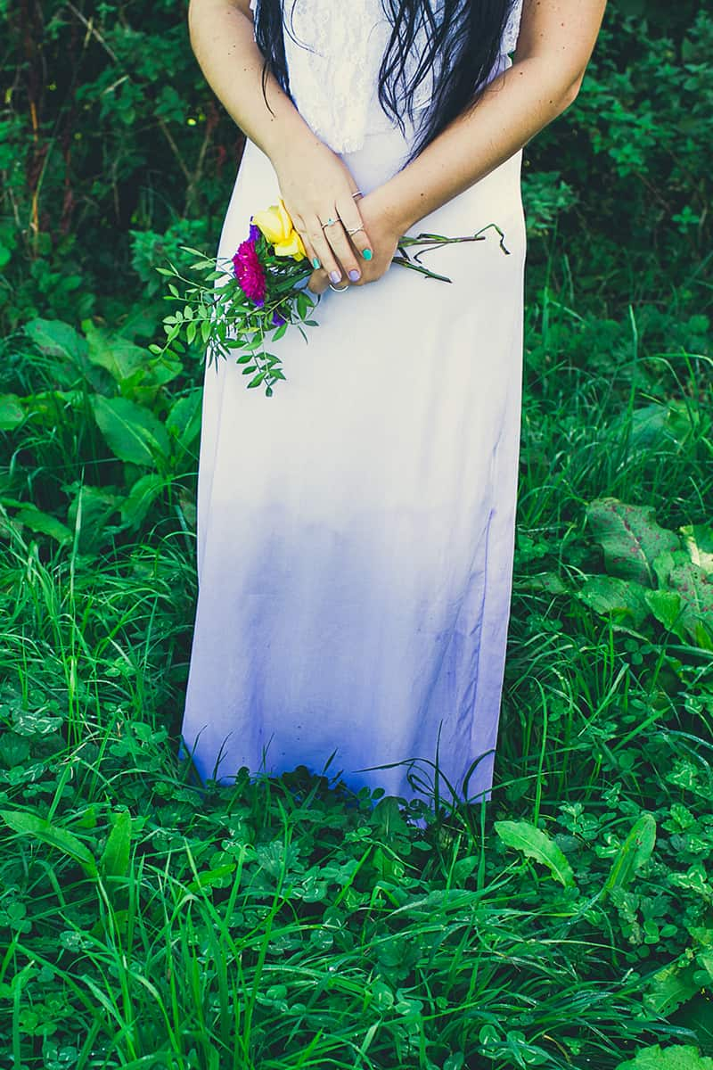 diy ombre wedding dress ombre wedding dress DIY Ombre Wedding Dress