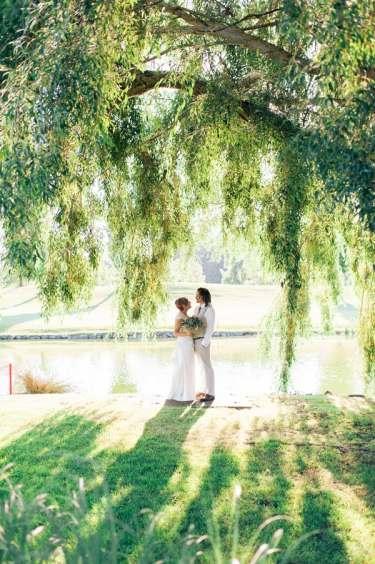 Succulent Laid Back Wedding 28