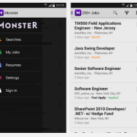 Monster.com Android Application