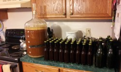 Racking a Centennial IPA Homebrewing Recipe