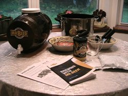 Mr. Beer Homebrewing Kit