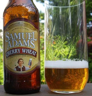 Samuel Adams Cherry Wheat - yummo