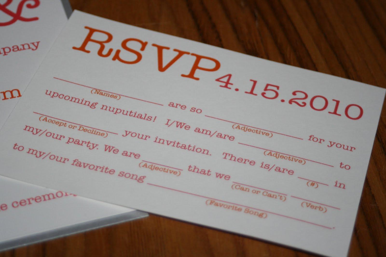 Fullsize Of Fun Wedding Invitations