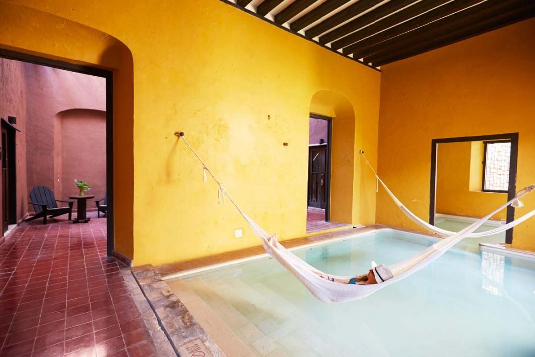 Hacienda-Puerta-Campeche-Hamac-Piscine