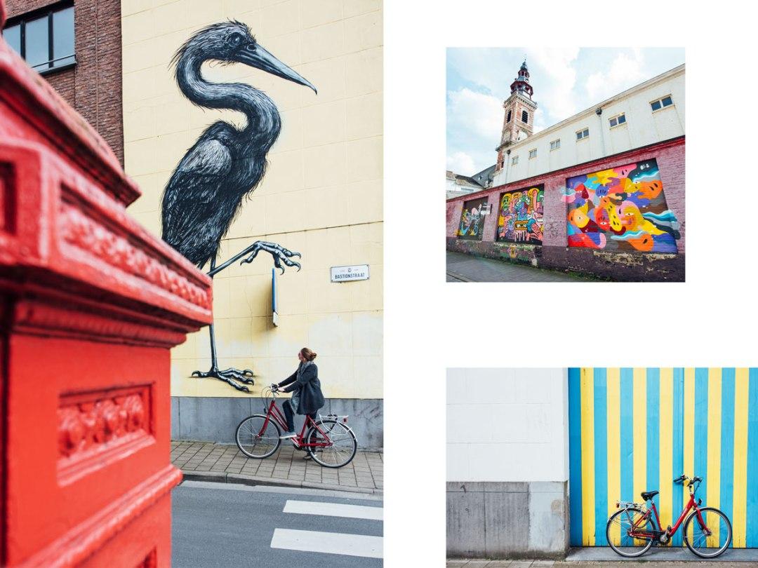 tour velo graffiti gand