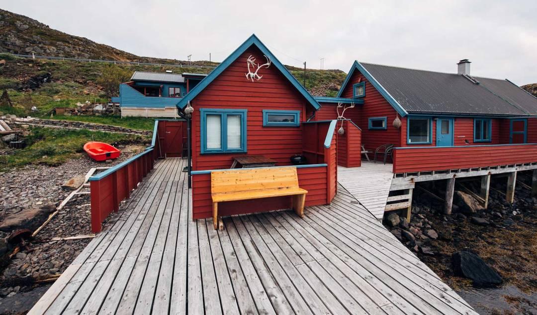 Dormir dans une cabane de pecheur norvege cap nord