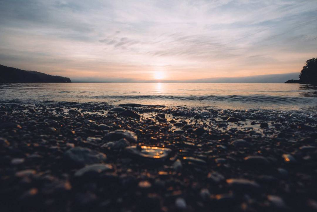 fundy national park sunrise