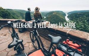 ALLEMAGNE   Week-end de 3 jours à VELO dans la Sarre
