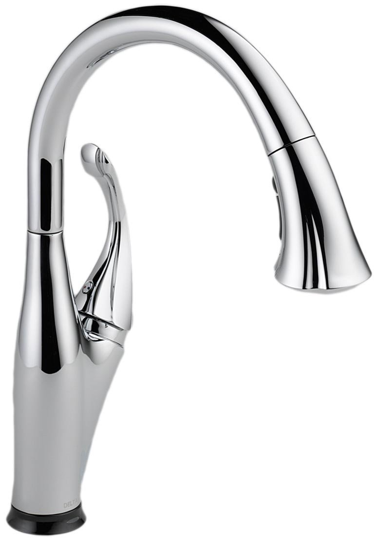 2 delta kitchen faucets delta touchless kitchen faucet