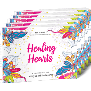 Healing Hearts Coloring Book 5-Pack