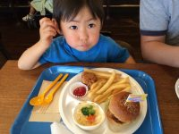 sasa burger kid`s plate