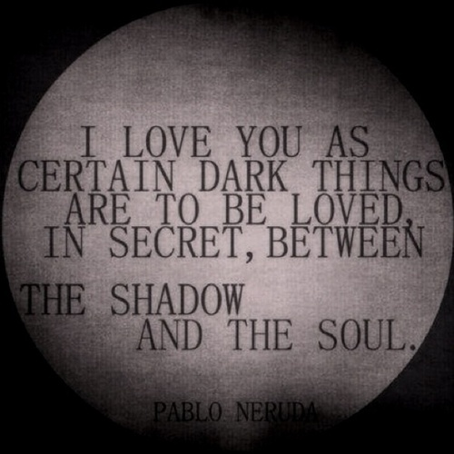 gallery for dark quotes about love