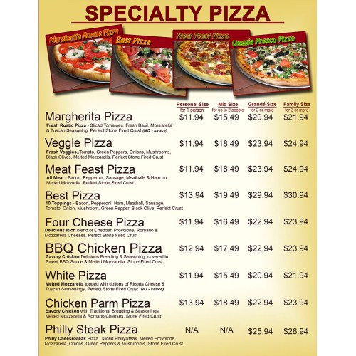 Picturesque Wize Guys Hackensack Menu Side Menu Wize Guys Hackensack