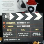 A Movie-Themed Wedding with Minted
