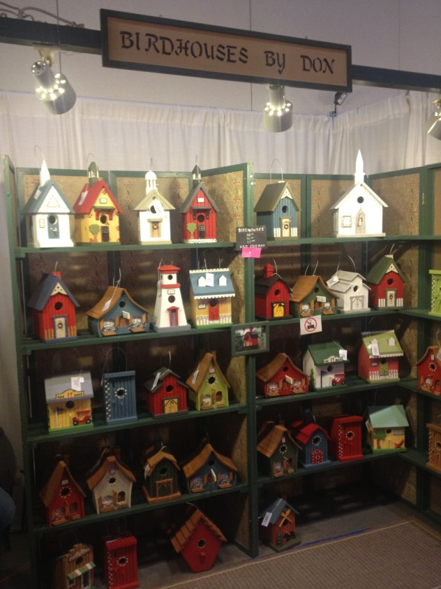 Birdhouses by Don. Backyards will never be the same once you add one of Don's spectacular & cozy bird houses! Each design is equally charming and is sure to add a unique flair to your backyard retreat.