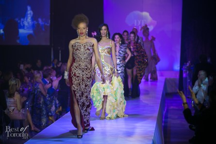 Stacey McKenzie leading the finale