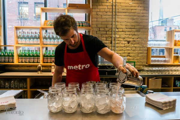 Metro cocktails served up by David Mitton, The Harbord Room