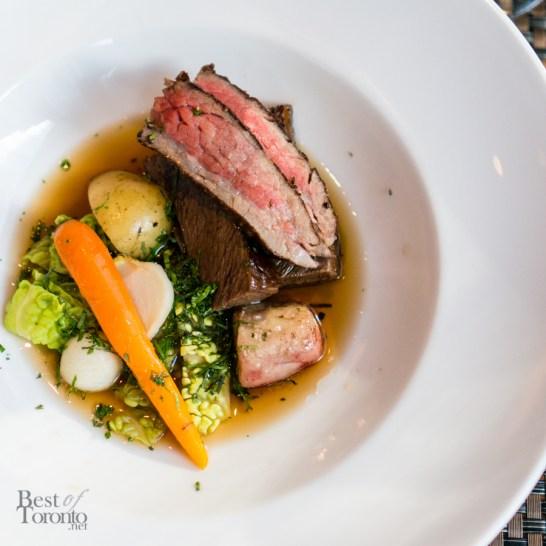 """Pot au Feu"" - bone marrow, carrot, turnip, potato"