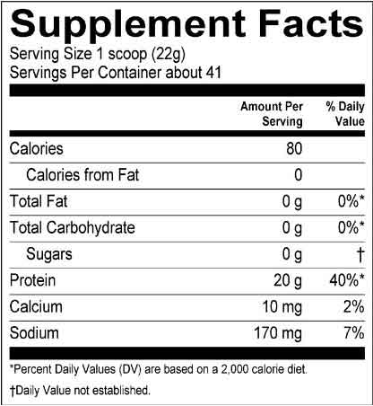 bipro-supplement-facts