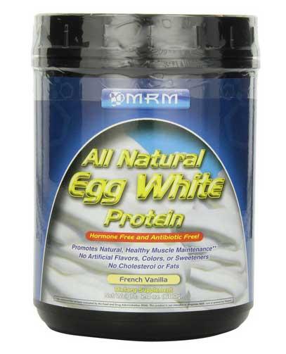 MRM All Natural Egg White Protein, French Vanilla, 24 ...
