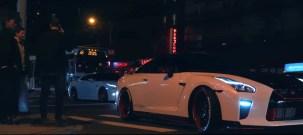 Nissan GT R R35 em dose dupla deixa New York em chamas