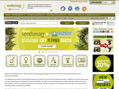 Seedsman Seeds Review