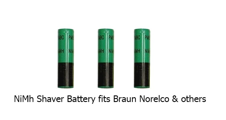 NiMh Shaver Battery fits Braun Norelco & others