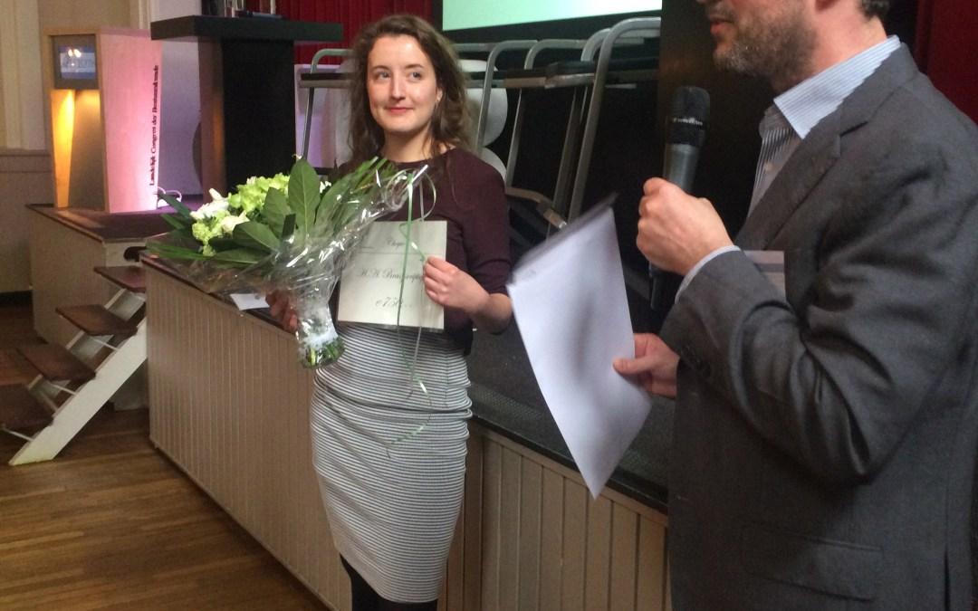 H.A. Brasz scriptieprijs 2016 naar Karin ter Horst