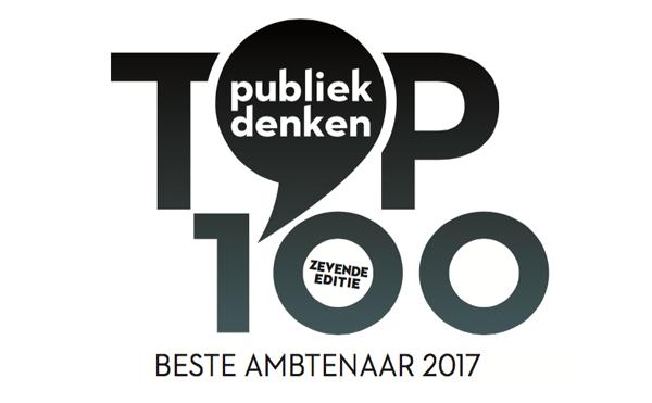 Finalisten Publiek Denken Top 100 Beste Ambtenaar 2017 bekend